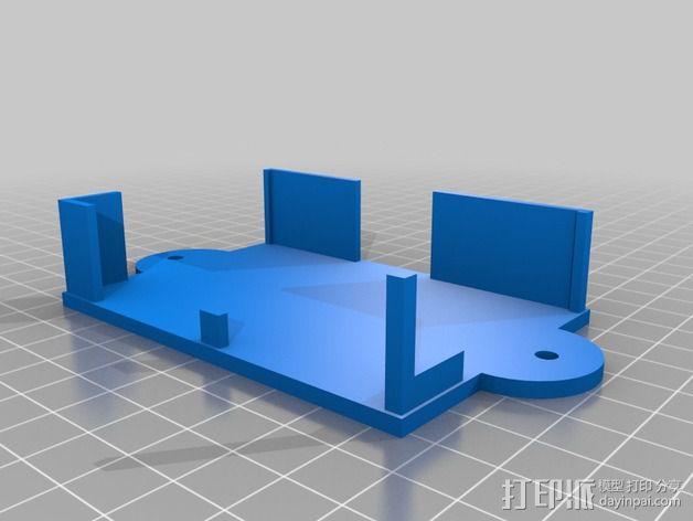 肿泡泡公主 树莓派外壳 3D模型  图3
