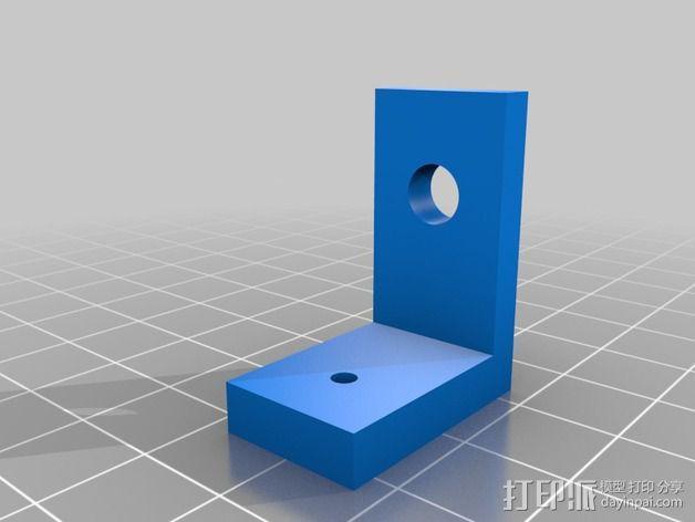 开关支架 3D模型  图2