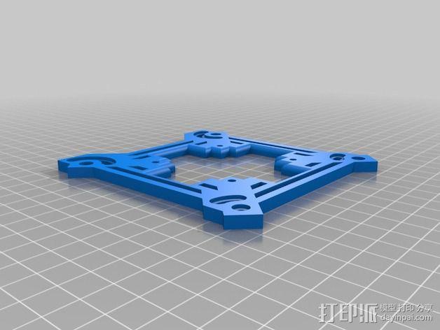 可折叠四轴飞行器 3D模型  图2