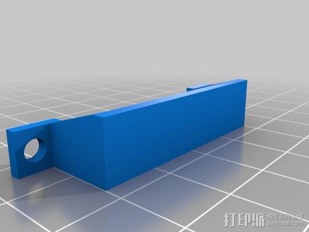 可折叠四轴飞行器 3D模型  图4