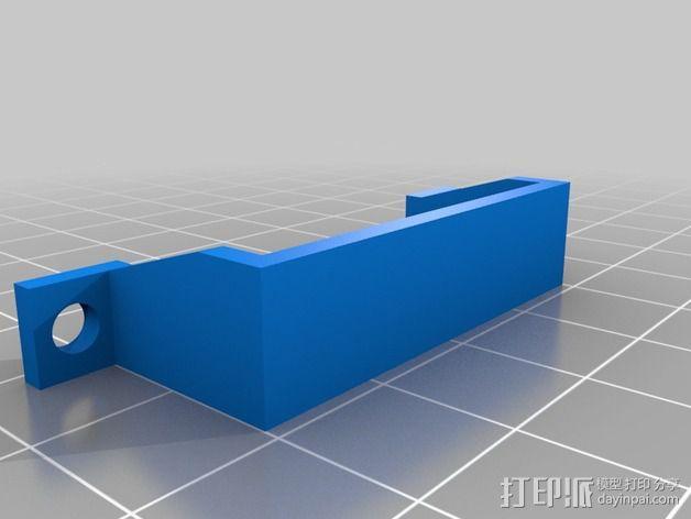 可折叠四轴飞行器 3D模型  图6
