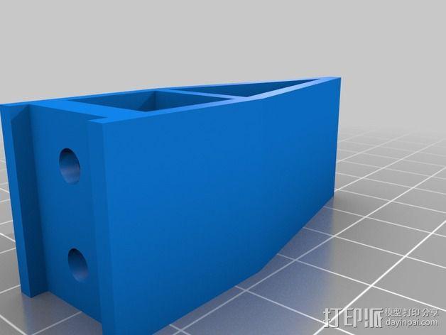 可折叠四轴飞行器 3D模型  图7