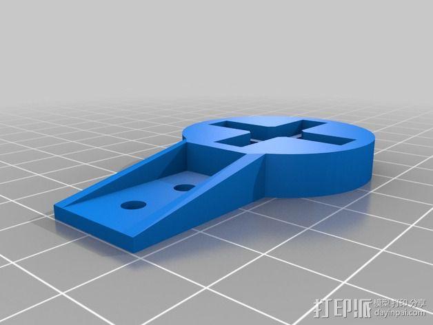 可折叠四轴飞行器 3D模型  图9