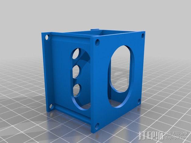 可折叠四轴飞行器 3D模型  图10