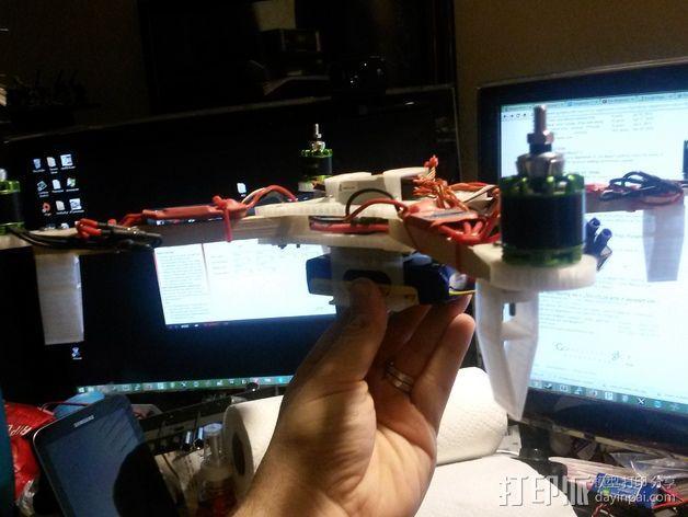 可折叠四轴飞行器 3D模型  图14