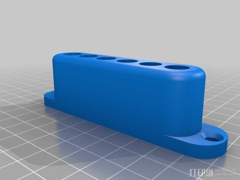 弓箭 底座 3D模型  图2