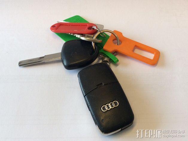 带扣 钥匙扣 3D模型  图4