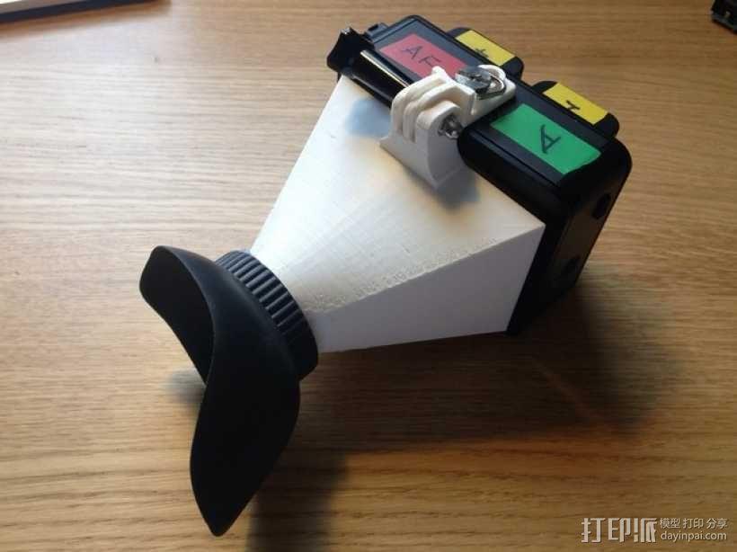 Atomos Ninja 2记录仪 电子取景器 3D模型  图1