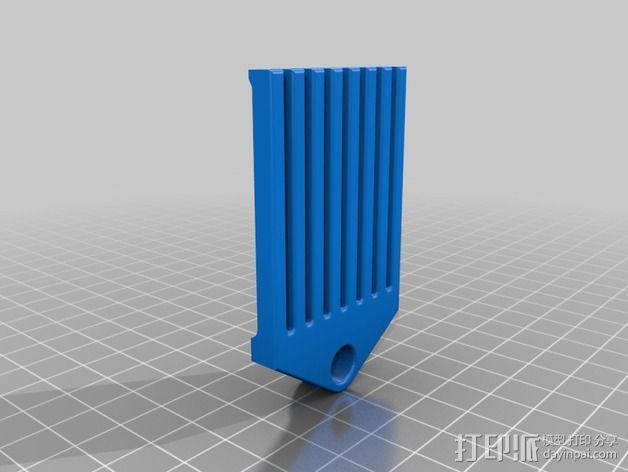 跳线收纳架 3D模型  图2