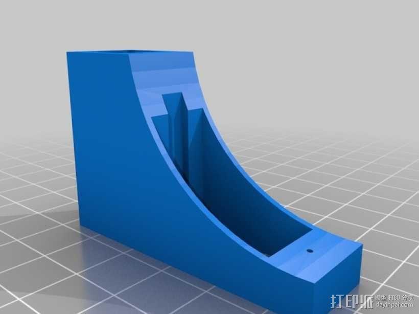 三轴飞行器支架 3D模型  图2