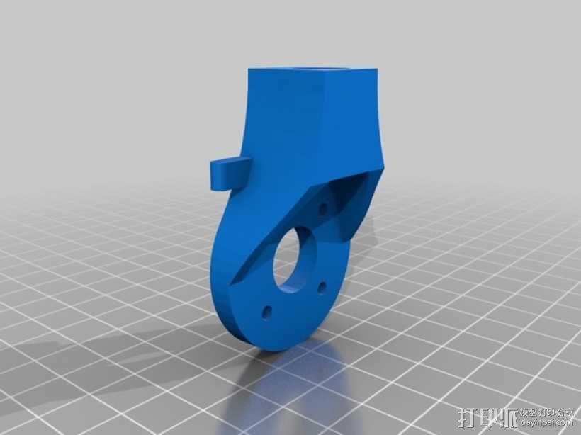 三轴飞行器支架 3D模型  图4