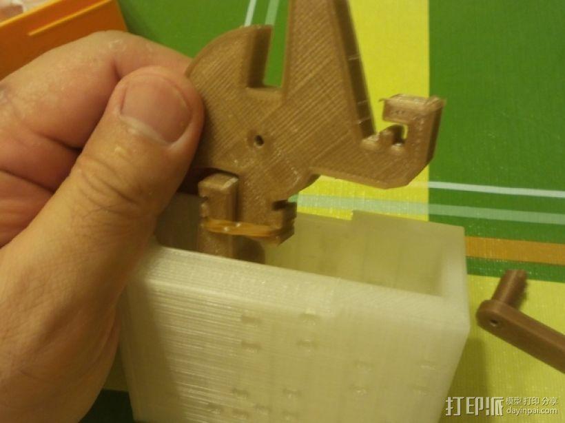十字弓 触发装置 3D模型  图3