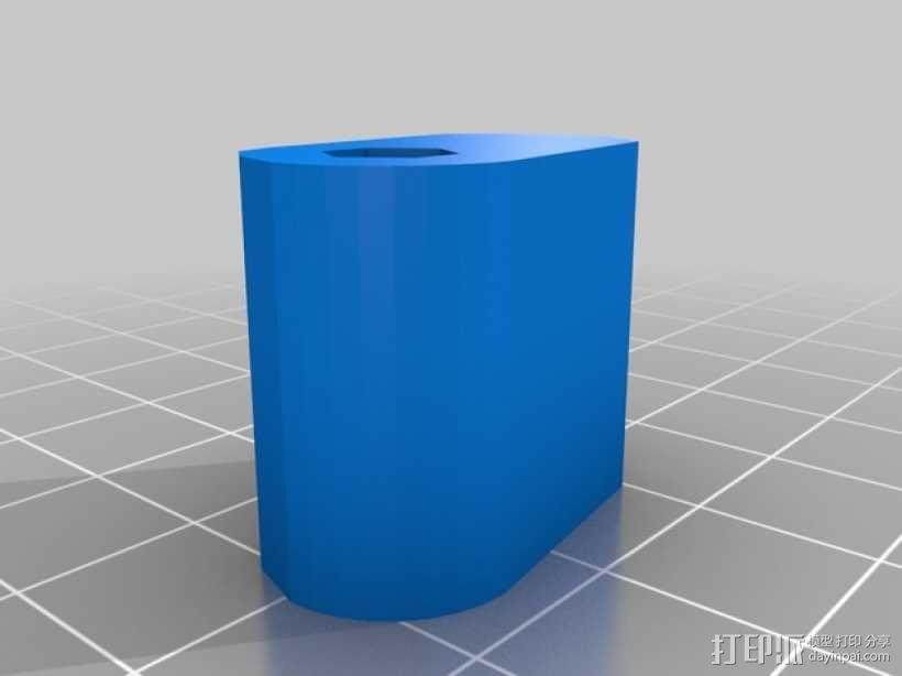 十字弓 触发装置 3D模型  图11