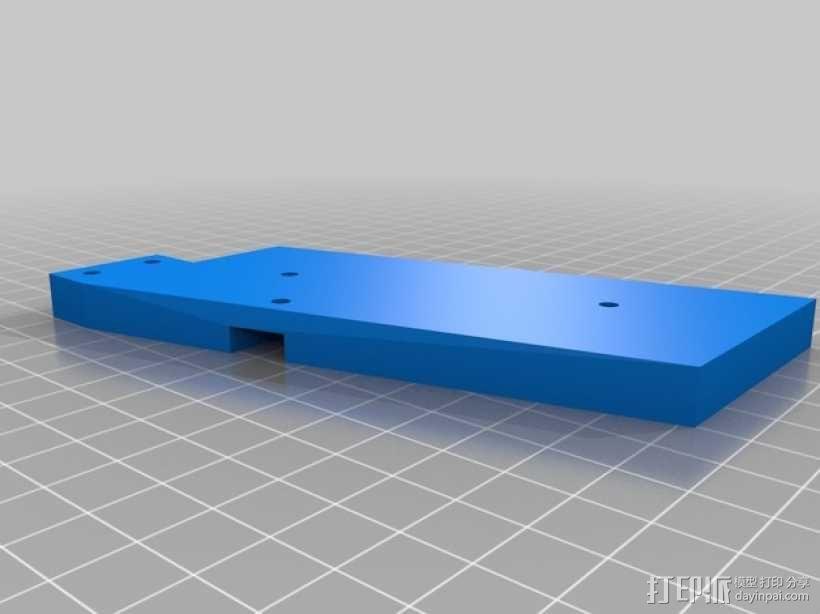 十字弓 触发装置 3D模型  图12