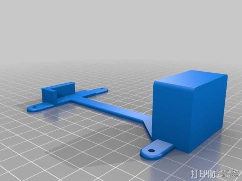 电池托盘 3D模型  图3