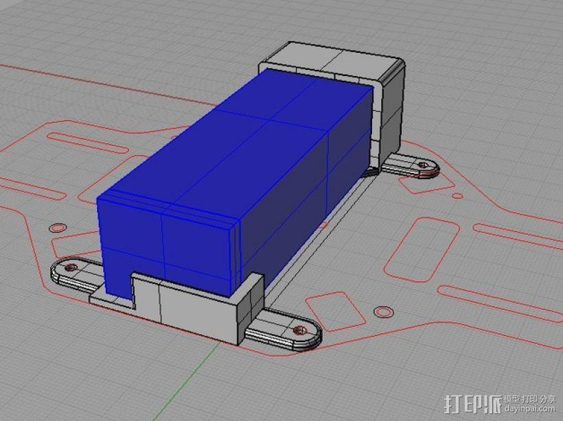 电池托盘 3D模型  图4