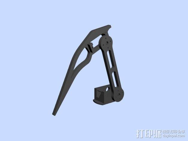 蜘蛛机器人腿部 3D模型  图5