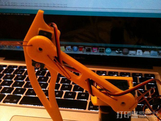 蜘蛛机器人腿部 3D模型  图9