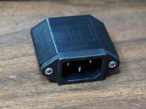 电脑电源后盖 3D模型