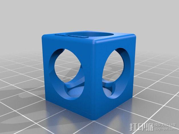 彩弹射击游戏纪念品 3D模型  图2
