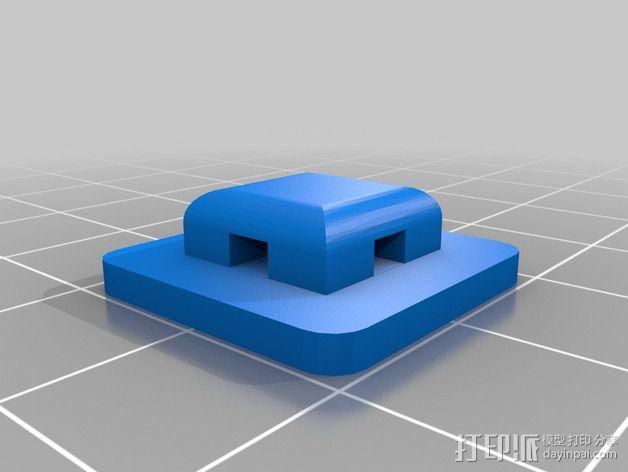 尼龙扎带 衬垫 3D模型  图2