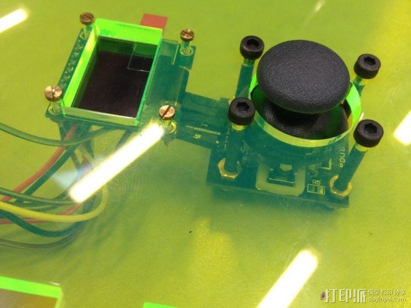 Arduino Uno无线游戏控制器 3D模型  图1