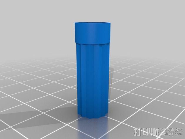 刺绣品 边框 3D模型  图2