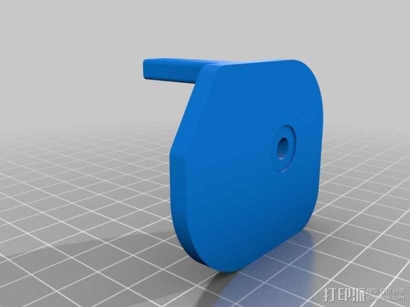 MRP山地车 链条导板 3D模型  图2