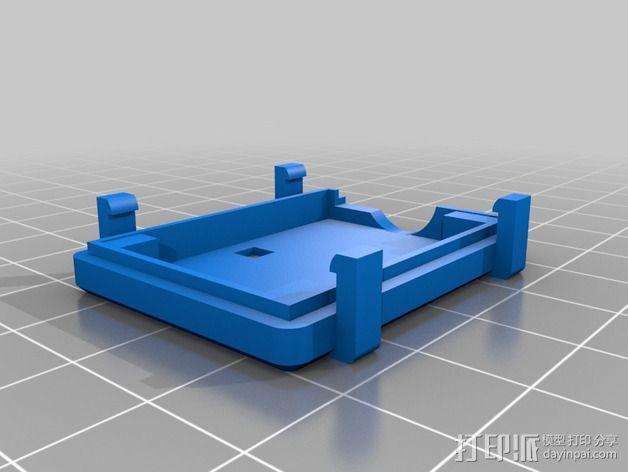 Afro 30A ESC电路板外壳 3D模型  图3