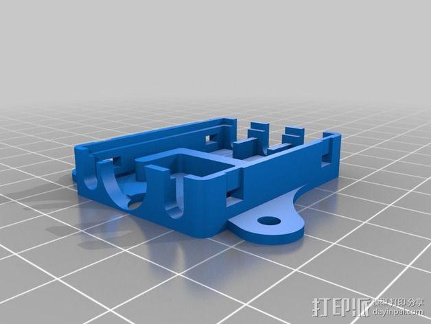 Afro 30A ESC电路板外壳 3D模型  图2