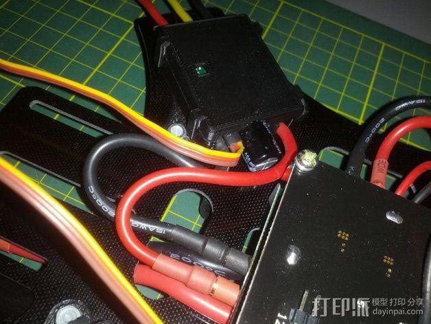 Afro 30A ESC电路板外壳 3D模型  图6