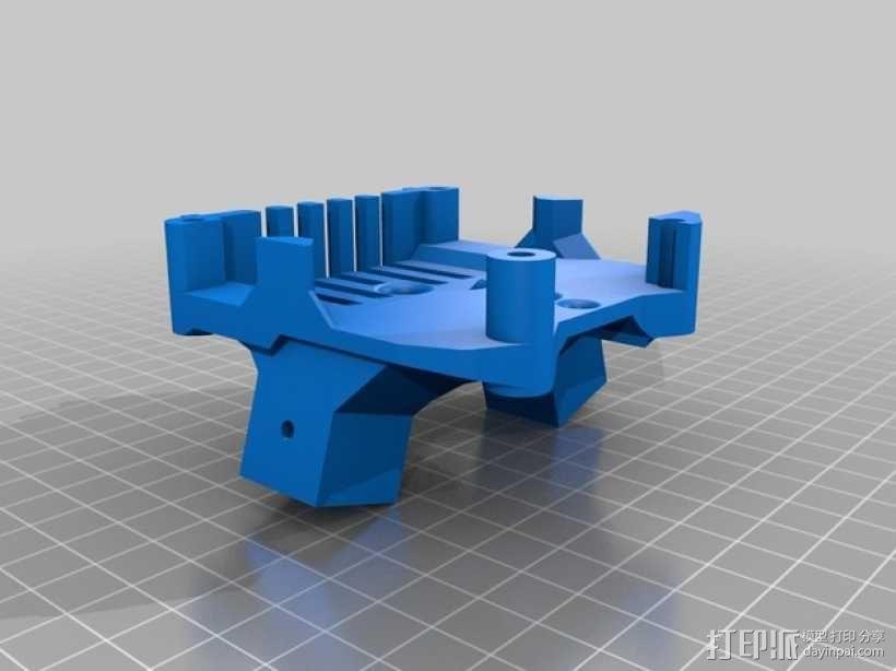 四轴飞行器v1 3D模型  图2