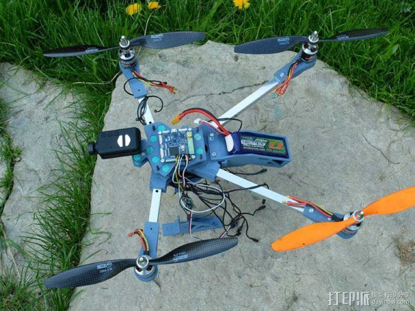 四轴飞行器v1 3D模型  图5
