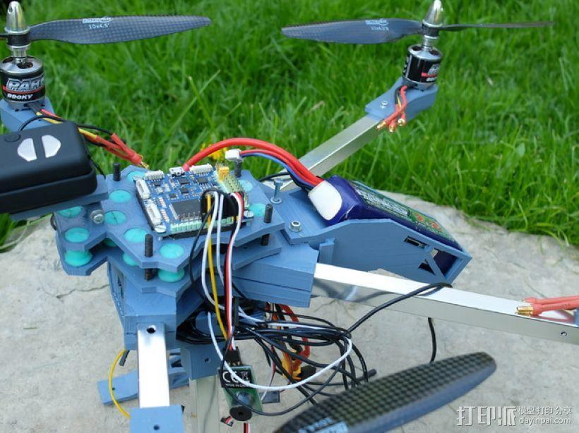 四轴飞行器v1 3D模型  图6