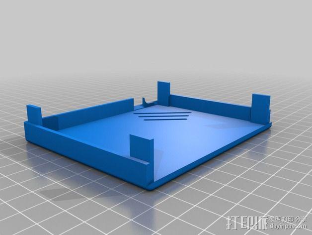 耳机放大器 耳放 外壳 3D模型  图3
