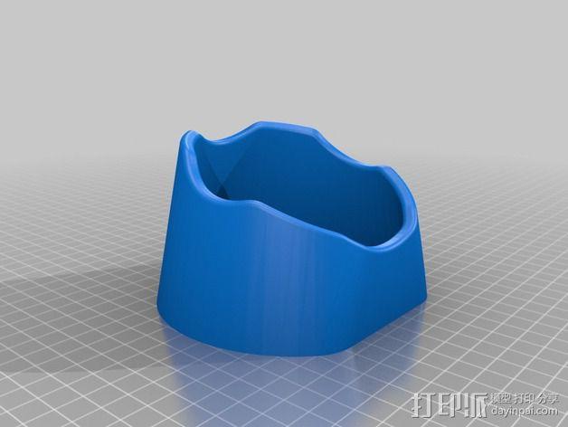 橄榄球 球座 3D模型  图2