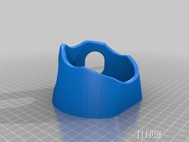 橄榄球 球座 3D模型  图3