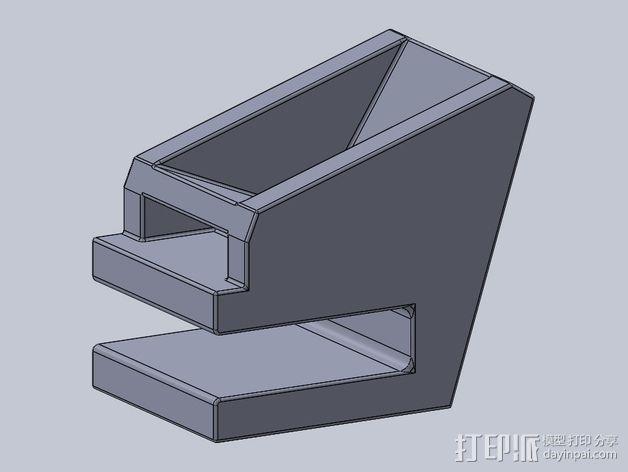 滑板 小旗支架 3D模型  图6