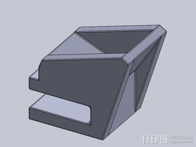 滑板 小旗支架 3D模型  图7