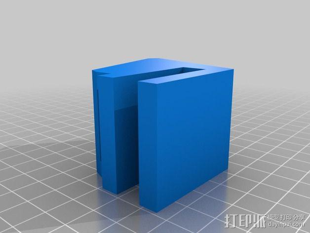 滑板 小旗支架 3D模型  图10