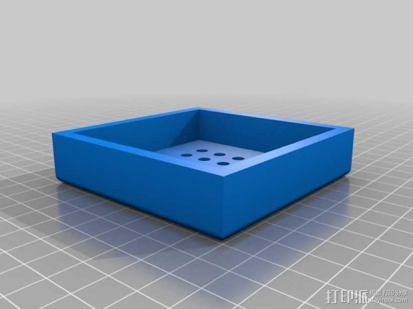 LED发光板 底座 3D模型  图3