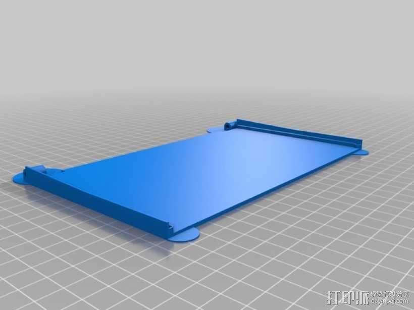 FPV显示屏 保护罩 3D模型  图5