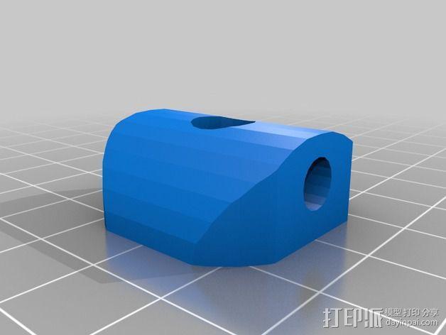迷你四轴飞行器 3D模型  图3