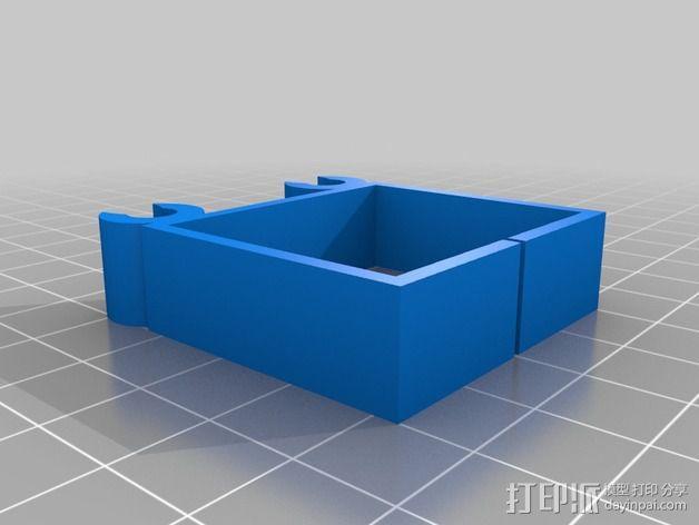 迷你四轴飞行器 3D模型  图5