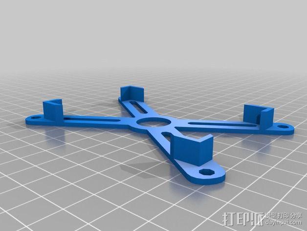 参数化电路板支架 3D模型  图2