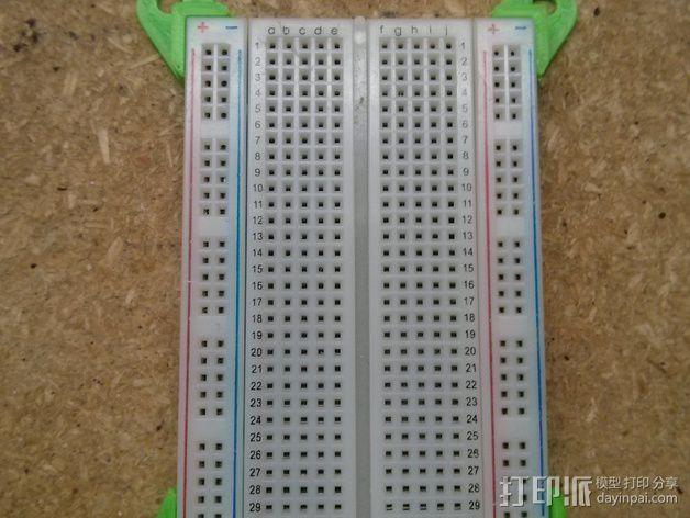 参数化电路板支架 3D模型  图4