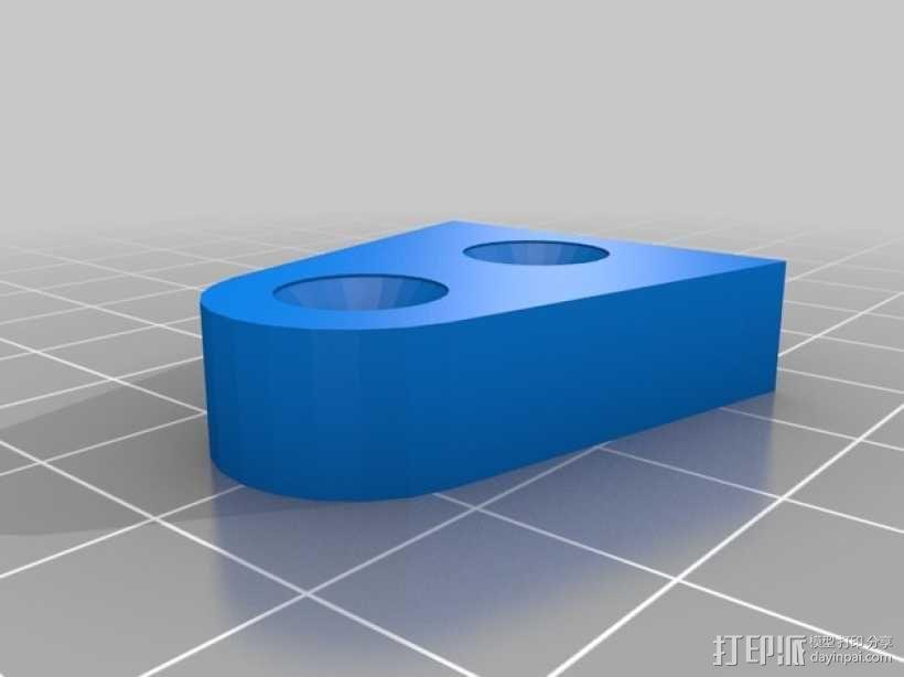 门档 3D模型  图3