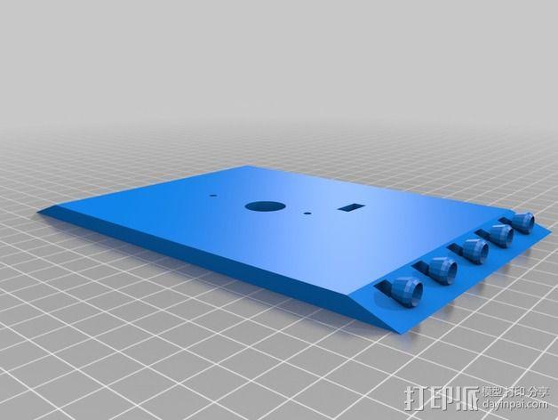 """Logitraxx""""雪地先锋""""履带式机器人 3D模型  图11"""