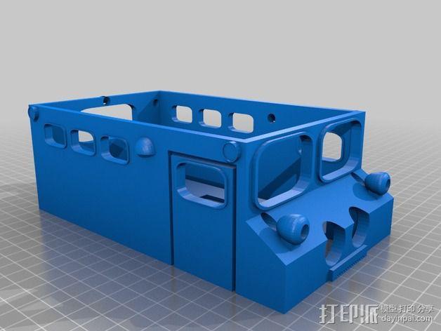 """Logitraxx""""雪地先锋""""履带式机器人 3D模型  图10"""