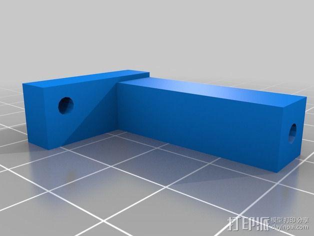 """Logitraxx""""雪地先锋""""履带式机器人 3D模型  图15"""